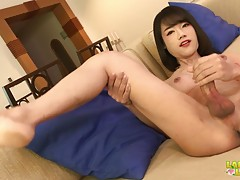 We have a returning hottie here in Ladyboy-Ladyboy stage and...