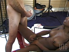 Just wait till you see what sexy model Natassia gets up to in this video. This dark tranny temptress submits her hole to both cock and toy, letting her lover pierce her ass with a long and potentially painful impliment. She seemingly can get enough and le