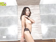 Atom is a lovely ladyboy whose gorgeous body is designed for...