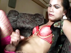 We love an Asian tranny with a big dick and Bea represents i...