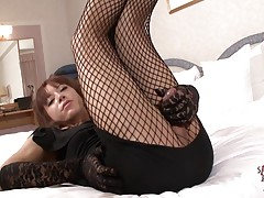 Pretty tgirl Seira Mikami has numerous outfits to wear and i...