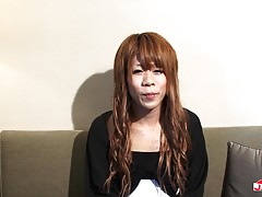 Sexy transgirl Sena Kasaiwazaki is all alone and she feels v...